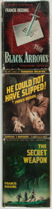 Books:Mystery & Detective Fiction, [Featured Lot]. Francis Beeding. Group of Three First Editions. NewYork: Harper and Brothers Publishers, 1938-1940. First U... (Total:3 Items)