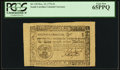 Colonial Notes:South Carolina, South Carolina December 23, 1776 $1 PCGS Gem New 65PPQ.. ...