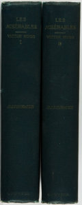 Books:Literature Pre-1900, Victor Hugo. Les Miserables. New York: Thomas Y. CrowellCompany, [1887].... (Total: 2 Items)