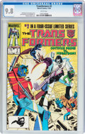 Modern Age (1980-Present):Science Fiction, Transformers #2 (Marvel, 1984) CGC NM/MT 9.8 White pages....