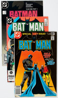 Modern Age (1980-Present):Superhero, Batman Box Lot (DC, 1978-94) Condition: Average VF.... (Total: 2Box Lots)