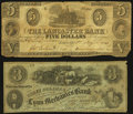 Obsoletes By State:Mixed States, Lancaster, PA- Lancaster Bank $5 May 15, 1848 G24. Lynn, MA- Lynn Mechanics' Bank $3 June 1, 1864 S12. ... (Total: 2 notes)