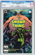 Modern Age (1980-Present):Horror, Saga of the Swamp Thing #38 (DC, 1985) CGC NM+ 9.6 White pages....