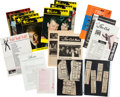Music Memorabilia:Memorabilia, Beatles - A Large Group of Star-Club Memorabilia, Magazines, andClothing (Germany 1960s)....