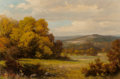 Texas:Early Texas Art - Regionalists, Robert William Wood (American, 1889-1979). Fall Landscape. Oil on canvas. 20 x 30 inches (50.8 x 76.2 cm). Signed lower ...