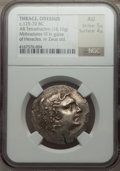 Ancients:Greek, Ancients: MACEDONIAN KINGDOM. Alexander III the Great (336-323 BC).AR tetradrachm (16.16 gm). ...