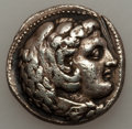Ancients:Greek, Ancients: MACEDONIAN KINGDOM. Alexander III the Great (336-323 BC).AR tetradrachm (12.58 gm)....