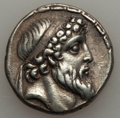 Ancients:Greek, Ancients: SELEUCID KINGDOM. Demetrios II Nikator (second reign,129-125 BC). AR tetradrachm (16.42 gm)....