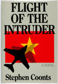 Books:Mystery & Detective Fiction, Stephen Coonts. The Flight of the Intruder. Annapolis, MD:Naval Institute Press, [1986]. First edition. ...