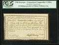 Colonial Notes:Connecticut, Connecticut Interest Certificate 10 Shillings May 26, 1790 AndersonCT-51.. ...