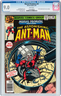 Bronze Age (1970-1979):Superhero, Marvel Premiere #47 Ant-Man (Marvel, 1979) CGC VF/NM 9.0 White pages....