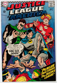 Justice League of America #44 (DC, 1966) Condition: VF/NM