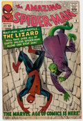 Silver Age (1956-1969):Superhero, The Amazing Spider-Man #6 (Marvel, 1963) Condition: VG/FN....