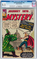 Journey Into Mystery #96 (Marvel, 1963) CGC VF+ 8.5 Off-white to white pages