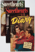 Golden Age (1938-1955):Romance, Sweetheart Diary/Sweethearts Group of 10 (Fawcett, 1951-52)....(Total: 10 Comic Books)