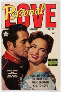 Golden Age (1938-1955):Romance, Personal Love #25 (Famous Funnies, 1954) Condition: VG-....