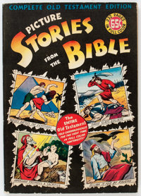 Picture Stories from the Bible: Complete Old Testament (EC, 1943) Condition: GD