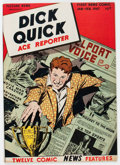 Golden Age (1938-1955):Non-Fiction, Picture News #10 Dick Quick, Ace Reporter (Lafayette Street Corp.,1947) Condition: VF+....