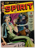 Golden Age (1938-1955):Crime, The Spirit #21 (Quality, 1950) Condition: GD+....