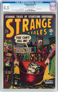 Golden Age (1938-1955):Horror, Strange Tales #16 (Atlas, 1953) CGC VG+ 4.5 Off-white to whitepages....