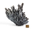Minerals:Cabinet Specimens, Stibnite. Hunan Province. China. 7.08 x 6.69 x 3.93 inches (18 x17 x 10 cm). ...