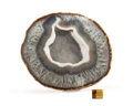 Lapidary Art:Carvings, Agate Geode. Rio Grande do Sul. Brazil. 7.48 x 6.49 x 4.33inches (19.00 x 16.50 x 11.00 cm). ...