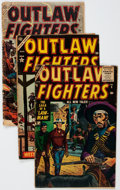 Golden Age (1938-1955):Western, Outlaw Fighters #1-5 Complete Series Group (Atlas, 1954-55) Condition: Average GD/VG.... (Total: 5 Comic Books)