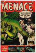 Golden Age (1938-1955):Horror, Menace #4 (Atlas, 1953) Condition: VG+....