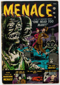 Golden Age (1938-1955):Horror, Menace #1 (Atlas, 1953) Condition: FR....