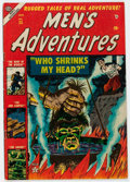 Golden Age (1938-1955):Horror, Men's Adventures #25 (Atlas, 1954) Condition: VG/FN....