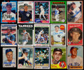 Baseball Cards:Lots, 1951-1989 Baseball New York Yankees Signed Cards Collection(200)....