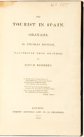 Books:Travels & Voyages, Thomas Roscoe. The Tourist in Spain. Granada. London: Robert Jennings and Co., 1835....