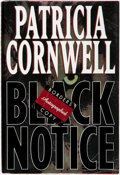 Books:Mystery & Detective Fiction, Patricia Cornwall. SIGNED. Black Notice. New York: G. P.Putnam's Sons, [1999]....