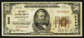 National Bank Notes:Kentucky, Owenton, KY - $50 1929 Ty. 1 The First NB Ch. # 2868. ...