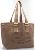 "Luxury Accessories:Bags, Louis Vuitton Olive Green Canvas Articles de Voyage Tote Bag.Excellent Condition. 13"" Width x 8.5"" Height x 7.5""Dept..."