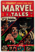 Golden Age (1938-1955):Horror, Marvel Tales #114 (Atlas, 1953) Condition: GD/VG....