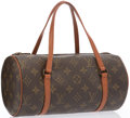 "Luxury Accessories:Bags, Louis Vuitton Classic Monogram Canvas Papillon 26 Bag. ExcellentCondition. 11"" Width x 5"" Height x 5"" Depth, 5"" Handl..."