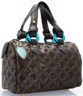 "Luxury Accessories:Accessories, Louis Vuitton Monogram Canvas & Black Sequin Speedy 28 Bag .Excellent Condition. 11"" Width x 7"" Height x 6""Depth. ..."