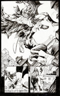 Original Comic Art:Splash Pages, Tony Daniel Batman #706 Splash Page 17 Original Art (DC,2011)....