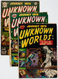 Golden Age (1938-1955):Horror, Journey Into Unknown Worlds Group of 16 (Atlas, 1951-57) Condition:Average FR.... (Total: 16 Comic Books)