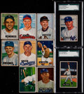 Baseball Cards:Sets, 1951 Bowman Baseball Partial Set (242/324) With 54 High Numbers. ...