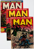 Golden Age (1938-1955):Non-Fiction, Man Comics Group of 11 (Atlas, 1950-53) Condition: Average GD+....(Total: 11 Comic Books)