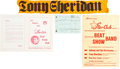 Music Memorabilia:Memorabilia, Beatles - A Group of Tony Sheridan Items from The Star-Club(Germany, 1960s)....