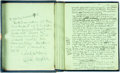 Books:Literature 1900-up, [Featured Lot]. Claude Houghton. INSCRIBED/SIGNED. OriginalManuscript for The Passing of the Third Floor Back. [N.p...
