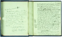 [Featured Lot]. Claude Houghton. INSCRIBED/SIGNED. Original Manuscript for The Passing of the Third Floor Back