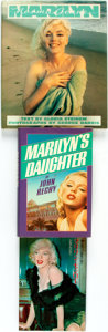 Books:Non-fiction, [Marilyn Monroe, subject]. Group of Three Books. Various publishers and dates.... (Total: 3 Items)
