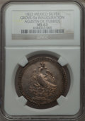 Mexico, Mexico: Augustin Iturbide silver Proclamation Medal 1822 MS63NGC,...