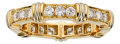 Estate Jewelry:Rings, Diamond, Gold Eternity Band, Cartier. ...
