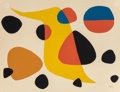 Prints, Alexander Calder (American, 1898-1976). Untitled. Lithograph in colors on Arches paper. 19-3/4 x 25-5/8 inches (50.2 x 6...