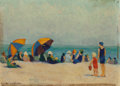 Fine Art - Painting, American:Contemporary   (1950 to present)  , Ruth Sutton (American, 1898-1960). Nantucket. Oil on canvaslaid on board. 9 x 12 inches (22.9 x 30.5 cm). Signed lower ...